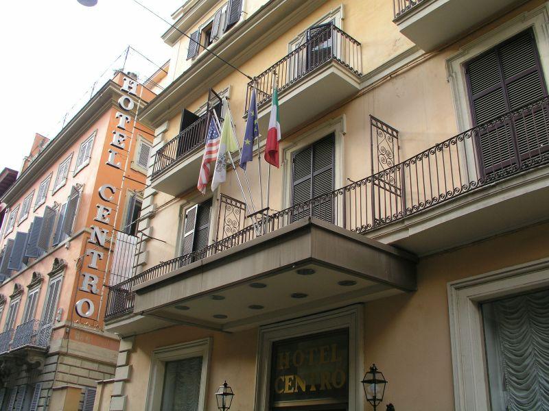 Rom Buslinien Nahe Hotel Genio Buslinie